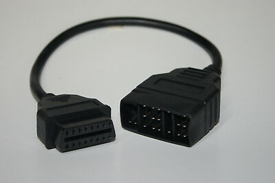 Toyota 22 Pin Diagnose Adapter Kabel OBD1 OBD2 Stecker F1