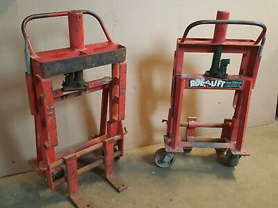 EQUIPMENT MOVING LIFT 4000 Lb Engine M4 Rol-A-Lift Moving Dollies Rolalift Dolly
