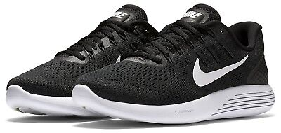 Men's Nike Lunarglide 8 Running Shoes - Black/White - NIB!