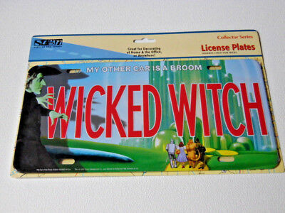 Wizard of Oz-Wicked Witch License Plate~My Other Car Is A Broom Home Decor
