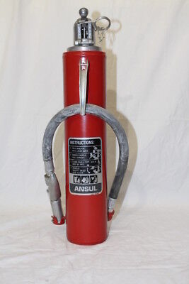 Ansul Red Line Portable Fire Extinguisher Model A-5 Dry Chemical 600 PSI