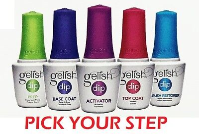 Gelish Soak Off Basix Acrylic Powder  DIP Manicure 15ML - PICK YOUR STEP