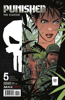 Punisher: The Platoon #5, NM 9.4, 1st Print, 2018 Flat Rate Shipping-Use Cart