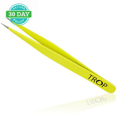 TROP Precision Tweezers made of Stainless Steel with perfectly interlocking...