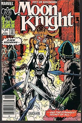 """Moon Knight #1 Marvel 06/85 Fist Of Khonshu On-Going """"night Of The Jackal"""" Nm-"""