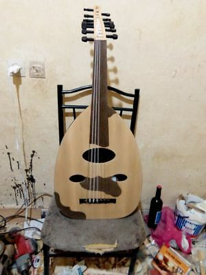 Moroccan quality oud instrument handmade