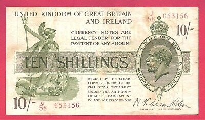 Great Britain ND (1922-23) 10 Shillings P-358