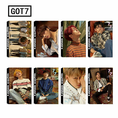 Lot of & 30pcs set KPOP GOT7 Album Personal Collective Photo Card Lomo Cards