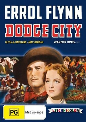 Dodge City DVD New and Sealed Australia All Regions
