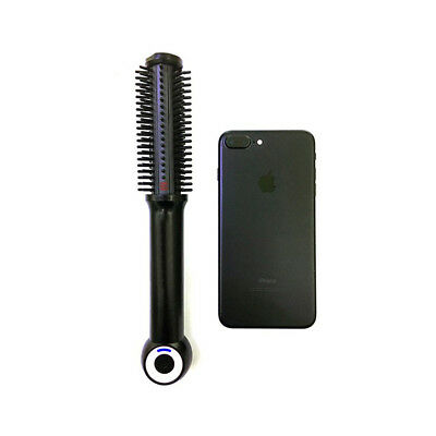 Portable USB Wireless Hair Curler Curling Comb Mounted Hair Straightener Roller