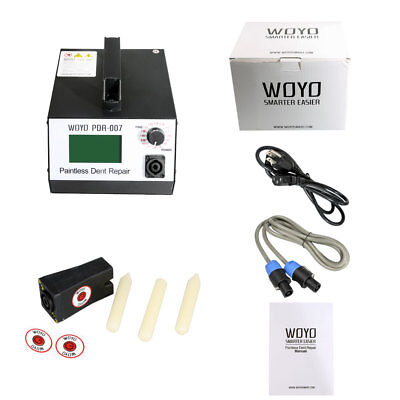 HotBox WOYO PDR007 Induction Heater Removing Dents Sheet Metal Repair Tools