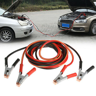 2000AMP Jumper Leads 6M Long Protected Jump Car Truck Booster Cables Heavy Duty