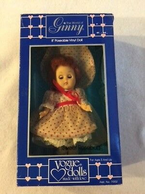 Ginny - Vogue Doll - Sweet Rosebud - NIB