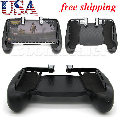 PUBG Mobile Phone Handle Controller + Gaming Trigger Gamepad Fire Button NEW #US