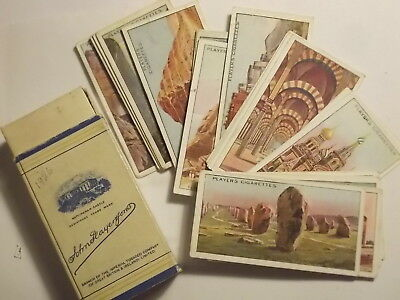 """Full Set of 25 Players 1913 Cigarette Cards. """"Wonders of the World"""" VG"""