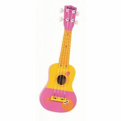 Boikido My First Colourful Wooden Guitar Pink