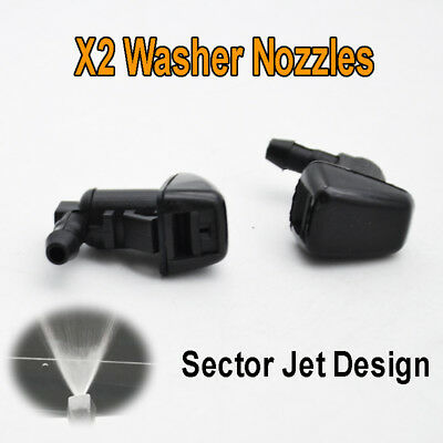 Front Windshield Wiper Water Jet Spray Nozzle Fit For Ford F250 F350 F450 F550