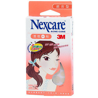3M Nexcare Acne Clear Cover CARE DRESSING PIMPLE STICKERS PATCH 36PCS