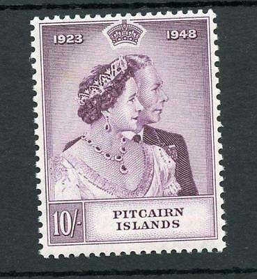 Pitcairn Islands 1948 Silver Wedding 10s SG12 MNH