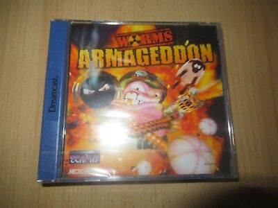 WORMS ARMAGEDDON SEGA DREAMCAST  NEW FACTORY SEALED  pal