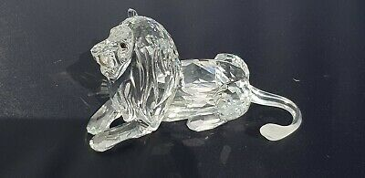 """Swarovski Crystal Lion Collectors Society 1995 """"SCS"""" Annual Edition NEW IN BOX"""