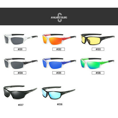 DUBERY Men Women Polarized Sunglasses Sport Men's Outdoor Driving Glasses New