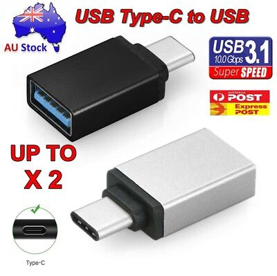 USB 3.1 Type C Male to USB 3.0 A Female Converter USB-C Adapter Data Cable OTG
