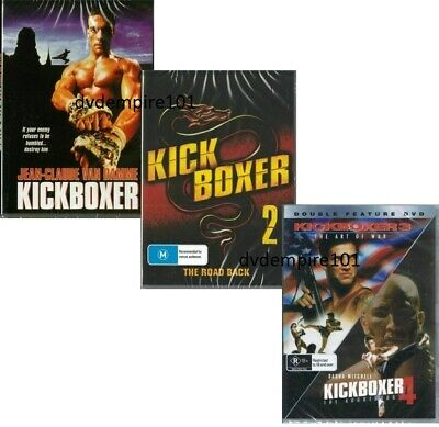 Kickboxer 1 2 3 4 Movie Set DVD New and Sealed Australia Region 4
