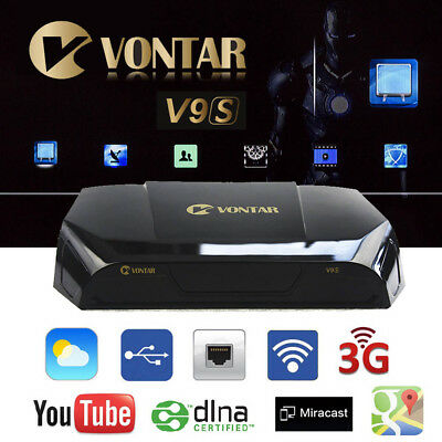 VONTAR V9S HD Freesat Smart TV Satellite Receiver Box AS OPENBOX V9S Fit  IPTV