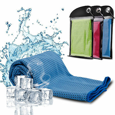 Ice Cooling Towel for Sports/Workout/Fitness/Gym/Yoga/Pilates
