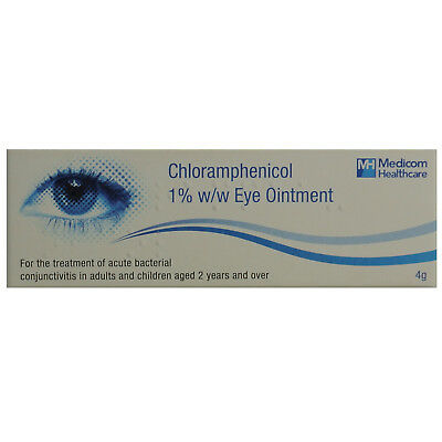 Eye Infection Blepharitis Conjunctivitis Antibiotic Bacterial(Optrex,Golden Eye)