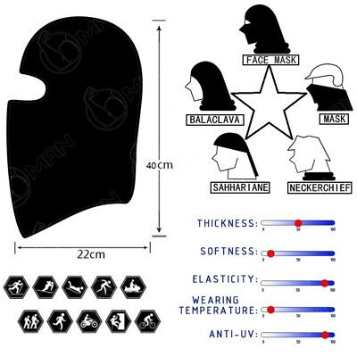 Outdoor Multi-Color Face Shield Sun Mask Neck Scarf Headwear New Mask Fishing