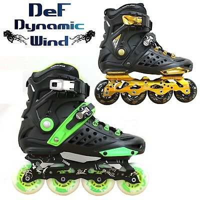 Kingdom GB Dynamic Wind Mens Womens Freestyle Speed Inline Skates Roller Blades