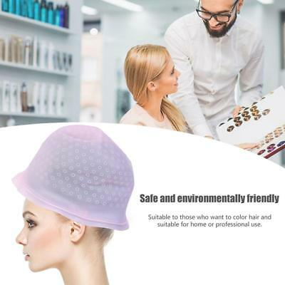 Reusable Silicone Dye Hat Hook Cap for Hair Color Highlighting Hairdressing Tool