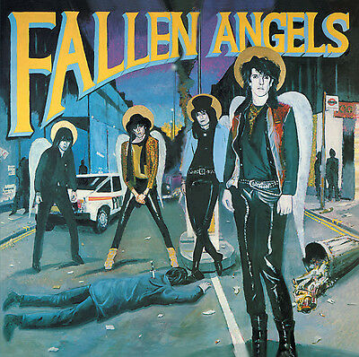 FALLEN ANGELS 'Fallen Angels' The VIBRATORS' Knox with HANOI ROCKS CD new sealed