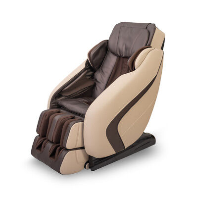 Full Body 9 Auto-Modes L-shape Electric Leather Shiatsu Massage Chair