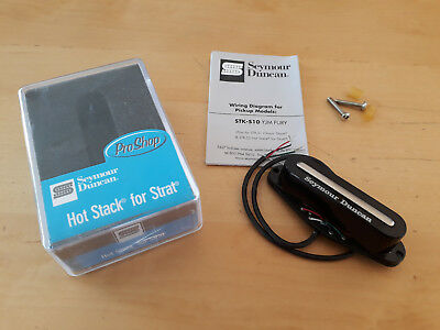 SEYMOUR DUNCAN STK-2B Hot Stack Strat, Bridge Pickup (Black ...
