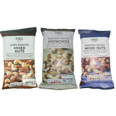 Mixed Nuts and Pistachios 150g - 175g - Marks & Spencer