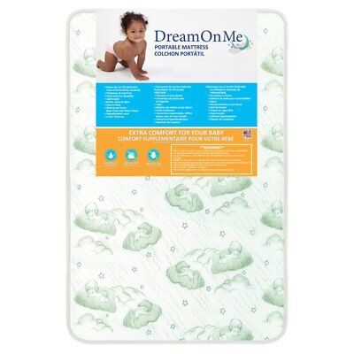 Dream On Me EvenFlo Baby Suite Selection 100 Three in. Square Corner Foam