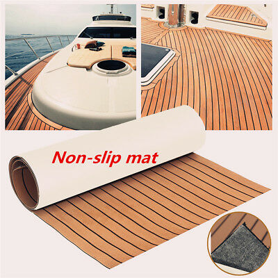 EVA Foam Teak Sheet Marine Flooring Yacht Boat Decking Self-Adhesive Pad