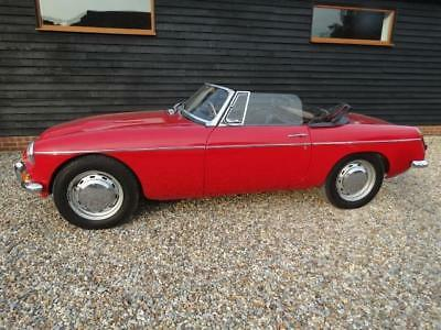 1968 Mg C Roadster Early Example