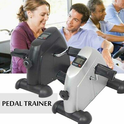 Mini Pedal Exercise Machine Fitness Digital Exerciser Bike Stationary Leg & Arm