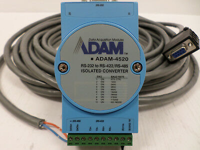ADAM Data Aquisition Module RS-232 to RS-422/RS-485 Isolated Converter ADAM-4520