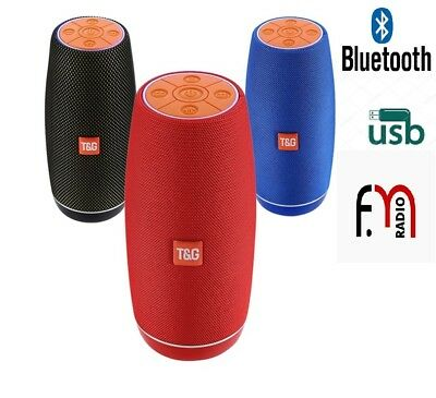 Portable Rechargeable Bluetooth Speaker Water proof Bass Strereo TF new TG-108