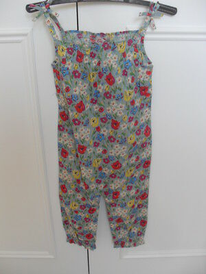 Genuine Cath Kids (Kidston) baby cotton playsuit Paradise Fields- Size 1-2 years