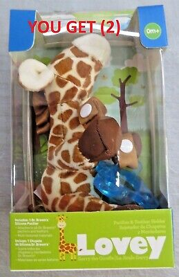 Dr Brown Lovey Gerry The Giraffe Pacifier