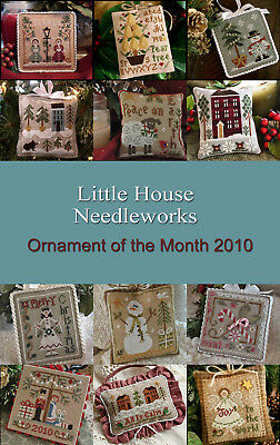 2010 Ornament Series All Dolled Up Little House Needlework Pattern 1 - 12
