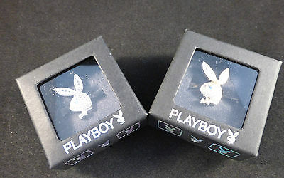 Playboy Adjustable Bunny Rings - Gold or Silver Plated with Swarovski Crystals