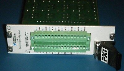 NI PXI-2565 16-Channel High Power Relay Switch Module, National Instruments