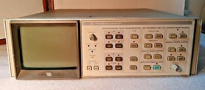 (PR4) HP Agilent Keysight 85662A Spectrum Analyzer Display